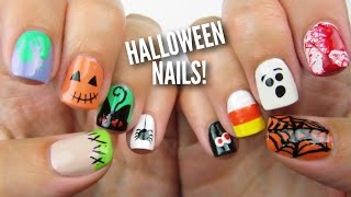 getlinkyoutube.com-10 Halloween Nail Art Designs: The Ultimate Guide #2!