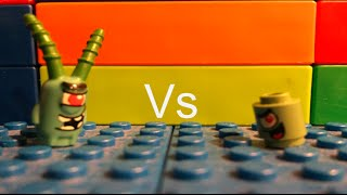 """Lego spongebob episode 6 """" Plankton vs Plankton"""""""