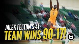 getlinkyoutube.com-Jalek Felton's 41 Leads Team to 90-17 Beat Down on the Road