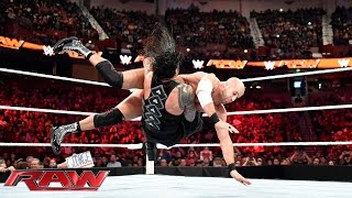 getlinkyoutube.com-Reigns vs. Cesaro - WWE World Heavyweight Championship Tournament Quarterfinal: Raw, Nov., 16, 2015