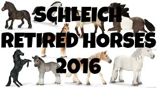getlinkyoutube.com-SCHLEICH RETIRED HORSES 2016 | horzielover