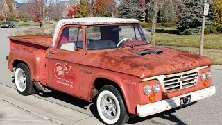 getlinkyoutube.com-1964 Dodge D100 Hemi Cherry Bomb Test Drive Classic Muscle Car for Sale in MI Vanguard Motor Sales