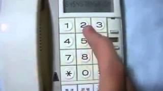 getlinkyoutube.com-電話機でルパン三世のテーマ曲を弾いてみた