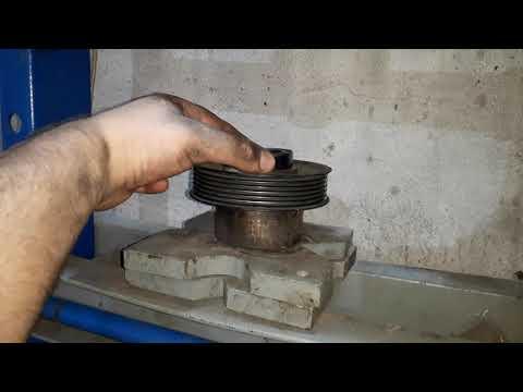 Подшипник шкива компрессора кондиционера БМВ 320 E90 N46N