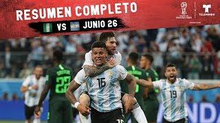 Nigeria vs. Argentina: Resumen Completo Junio 26   Copa Mundial FIFA Rusia 2018   Telemundo