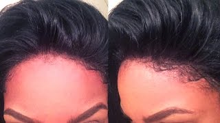 getlinkyoutube.com-Tutorial│Making a Lace Frontal Wig! No Hair out No Glue