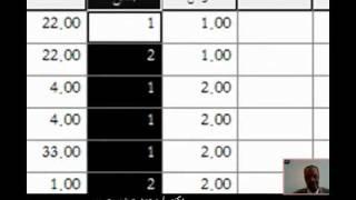 التدريب الثاني  علي برنامج spss  حساب المتوسط والانحراف المعياري