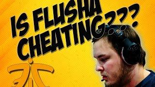 getlinkyoutube.com-flusha cheating? VAC BAN soon? IEM Katowice Finals
