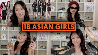 getlinkyoutube.com-18 TYPES OF ASIAN GIRLS