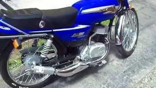 getlinkyoutube.com-Suzuki Ax100 con escape DM