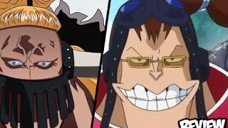 getlinkyoutube.com-One Piece 821 ワンピース Manga Chapter Review - Kid & Kaido Pirate Alliance Fight Zou Next??!! Apoo Call!