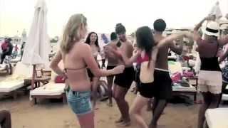 getlinkyoutube.com-Sand Beach Party Hurghada // Egypt