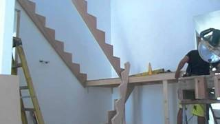 getlinkyoutube.com-Building a set of timber stairs