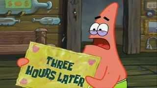 getlinkyoutube.com-Three hours later... Spongebob