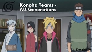 "getlinkyoutube.com-Konoha Teams - All Generations (Update: Team 2 ""Itachi Uchiha"")"