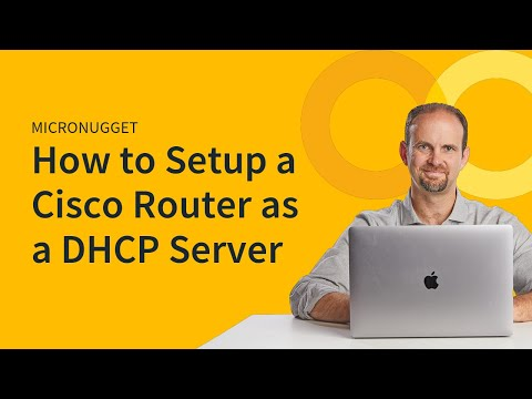 MicroNugget: Configuring a Cisco Router as a DHCP Server