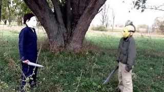 getlinkyoutube.com-Michael myers vs Jason Voorhees (fan film)
