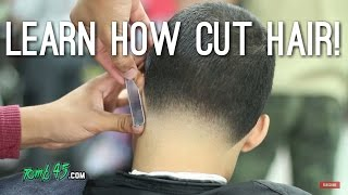 getlinkyoutube.com-Haircut Tutorial! All Even and taper out the back