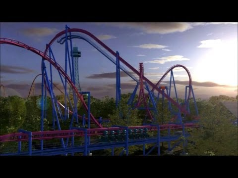 Banshee OffRide - Kings Island - Inverted Rollercoaster 2014