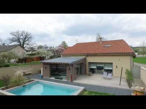 Maison F7 avec piscine à RODEMACK avec 4 chambres