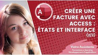 getlinkyoutube.com-Créer une facture avec Access - Création des états et de l'interface (3/3) Partie 2/2
