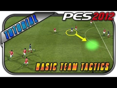 PES 2012 Basic Team Tactics Tutorial