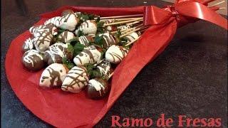 getlinkyoutube.com-Ramo de Fresas San Valentín