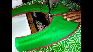 getlinkyoutube.com-Kurti neck cutting and stitching video in hindi.