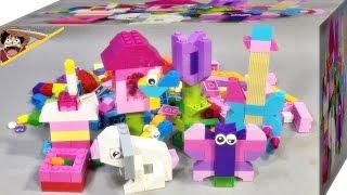getlinkyoutube.com-레고 클래식 밝은색 박스 10694 아이디어 창작용 블럭 제품 리뷰 Lego Creative Supplement Bright(브릭분해기 포함)