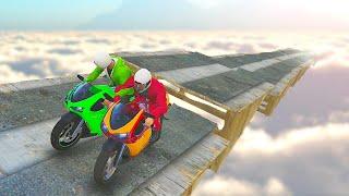 getlinkyoutube.com-HARDEST BIKE STUNTS EVER! (GTA 5 Funny Moments)