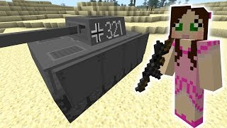 getlinkyoutube.com-Minecraft: GIANT TANK RAMPAGE MISSION - The Crafting Dead [45]