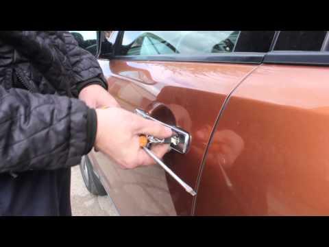 Вскрытие двери в Infiniti FX35