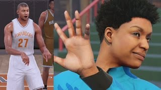 getlinkyoutube.com-NBA 2K16 PS4 My Career - Creation of Chris Smoove!