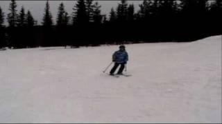 getlinkyoutube.com-Ski jibbing in Trysil