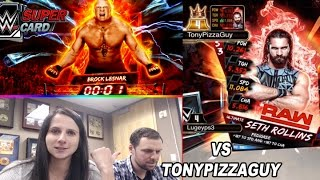 getlinkyoutube.com-Royal Rumble Mode vs TonyPizzaGuy !! WWE SUPERCARD | Season3