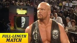"getlinkyoutube.com-""Stone Cold"" Steve Austin returns from injury - Survivor Series 1997"