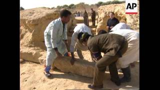 EGYPT: ALEXANDER THE GREAT'S TOMB DISCOVERY width=