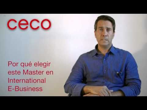 Fernando Aparicio | Máster International E-Business, 4ª Ed.