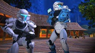 getlinkyoutube.com-Star Wars Battlefront 2 Mods: Kashyyyk Depot