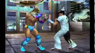 getlinkyoutube.com-Tekken 4 (PlayStation 2) Story Battle as King