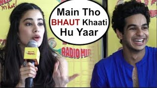Jhanvi Kapoor's FUNNY Reaction At Zingaat Song Launch| Dhadak Movie Song Launch