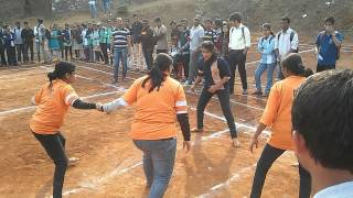 Final Kabbadi Match of Girls IT vs EXTC 2k15