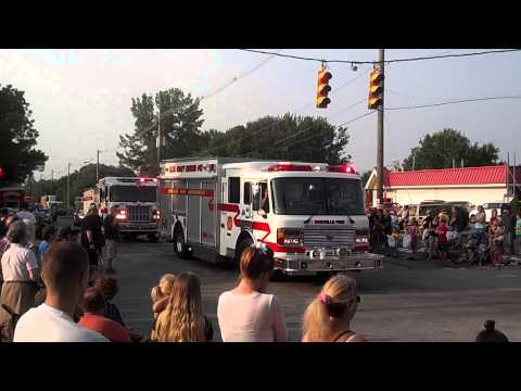 Orrville kick off 4th of july celebration parade 2012