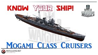 getlinkyoutube.com-World of Warships - Know Your Ship #14 - Mogami Class Cruisers