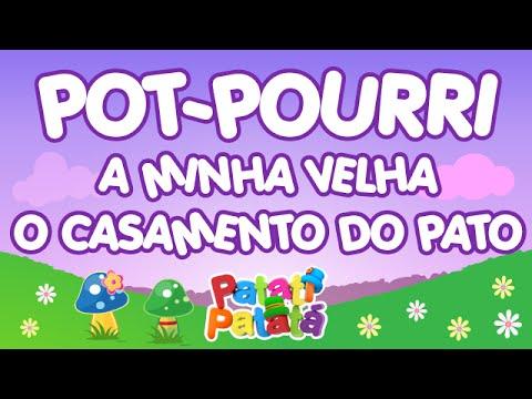 Patati Patatá - Pot-Pourri A minha Velha / O Casamento do Pato (DVD No Mundo Encantado)
