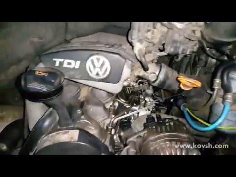 Как работает двигатель Volkswagen LT 2,5D TD при разбитом двухмассовом маховике