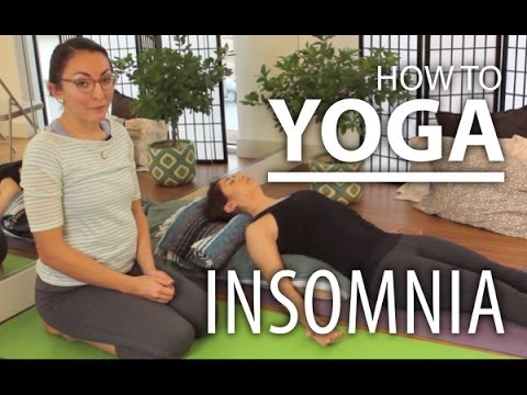 Yoga For Insomnia - Deep Relaxing Yoga Flow To Help Get To S