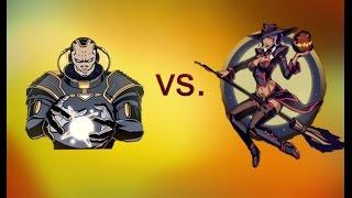 getlinkyoutube.com-Shadow Fight 2 - Хэллоуин - Лилит VS. Тень