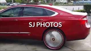 getlinkyoutube.com-2014 Chevy Impala on Dub 26 inch Diragio floaters done by Team 407 of Sanford