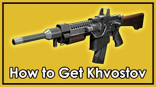 getlinkyoutube.com-Destiny Rise of Iron: How to Get The Exotic Khvostov 7G-0X (Weapon Part Locations)